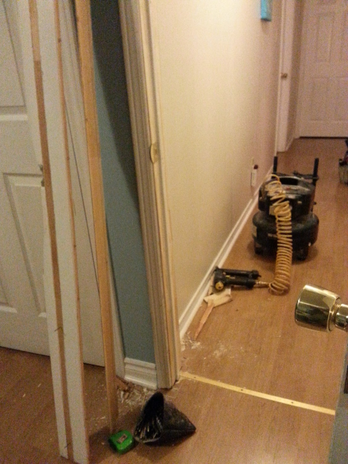 Door frame repairs - one side only