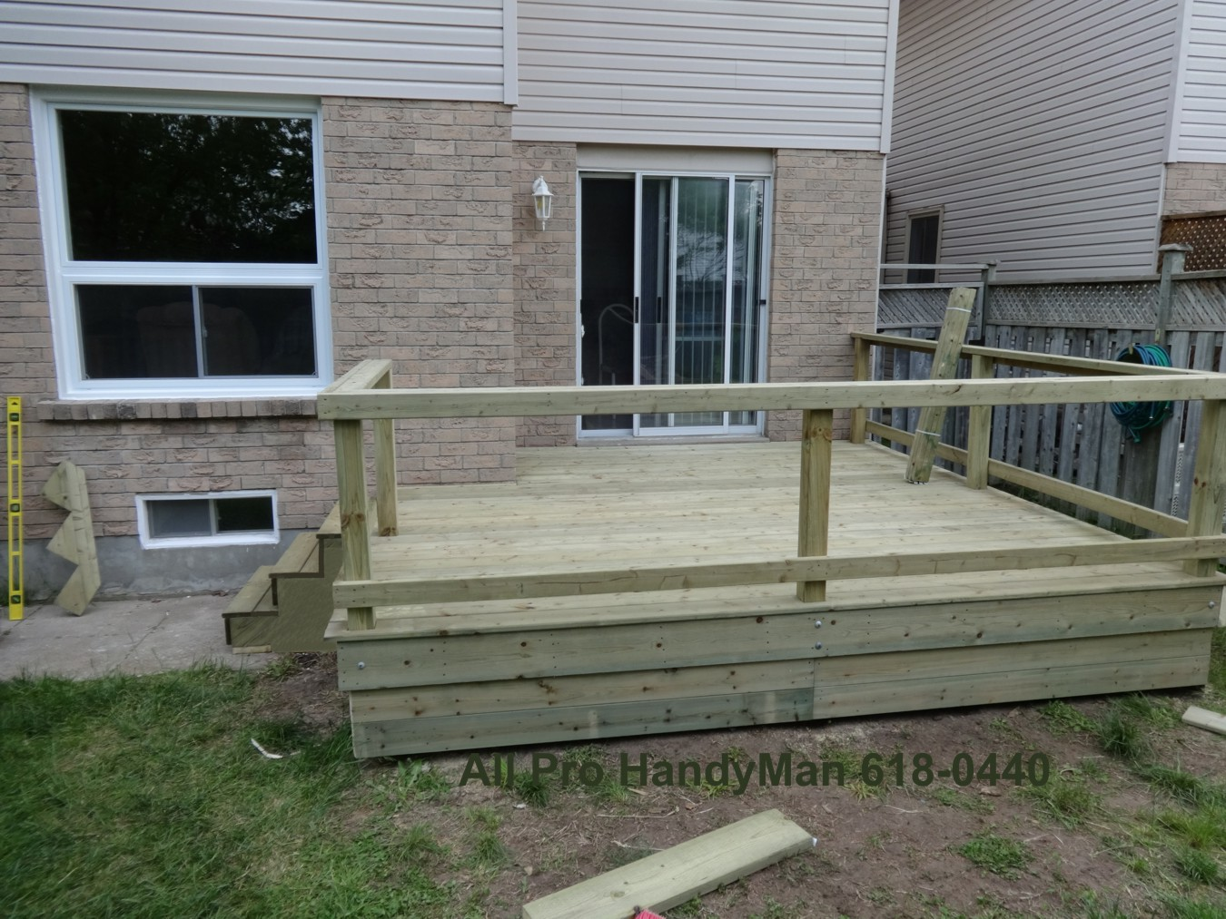 Refurbished Deck