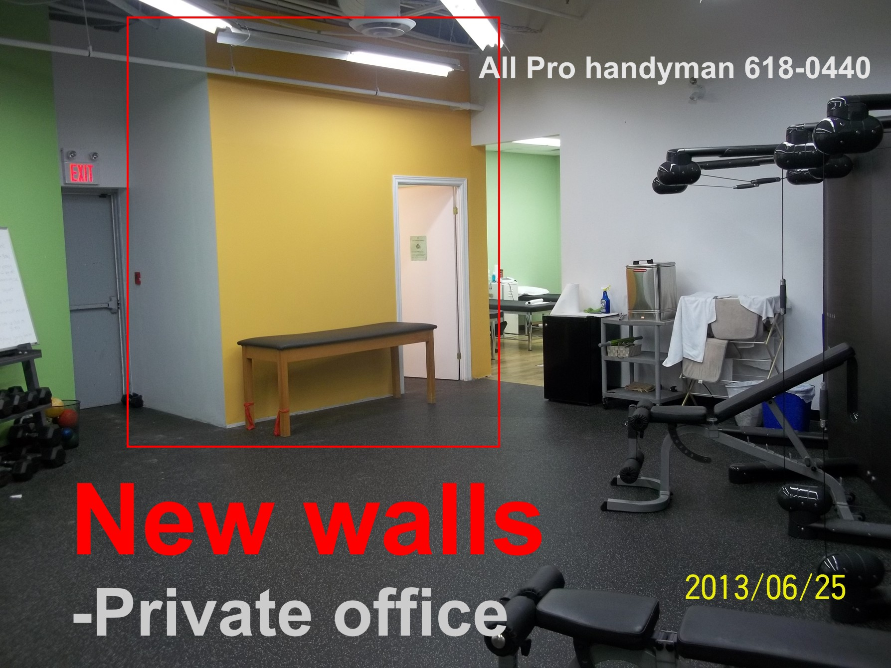 Build New walled office